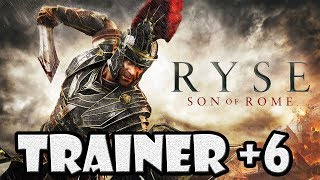 Ryse Son of Rome Trainer Salud Focus Exp Valor Infinitos