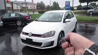 2015 Volkswagen GTI 2.0T S Walkaround, Start up, Tour and Overview