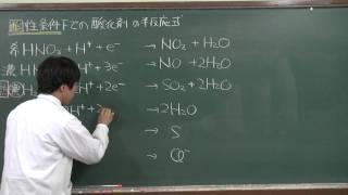 【化学基礎】酸化還元反応④(3of3)~半反応式~
