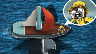 Jaws Movie 3 - MEGALODON SINKS MY SHIP!? (Minecraft Roleplay)