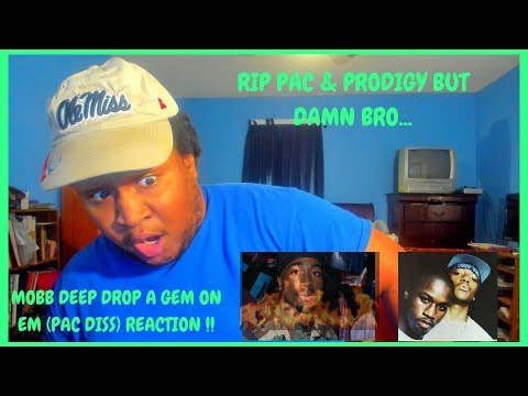 Mobb Deep - Drop A Gem On 'Em (REACTION) | THEY DIDNT PLAY WITH PAC ON THIS ONE! 😟😟