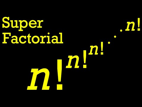 What Is A Superfactorial?