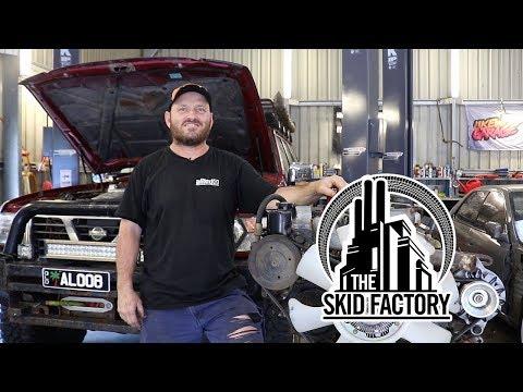 THE SKID FACTORY - Nissan Patrol TD42 Turbo Diesel Swap [EP1]