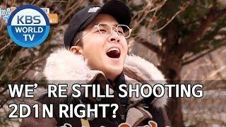 We're still shooting 2D1N right? [2 Days & 1 Night Season 4/ENG/2020.01.05]