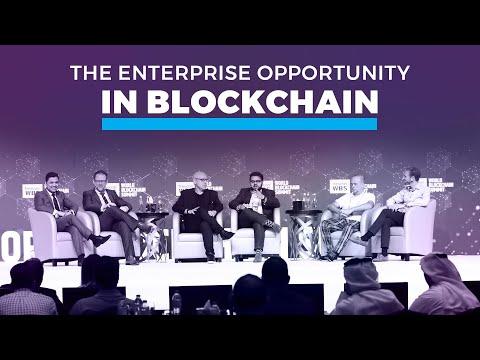 The Enterprise Opportunity in Blockchain