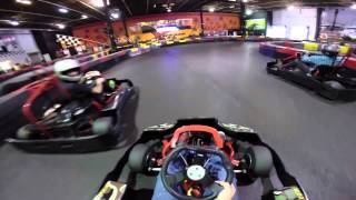 Super Fast Indoor Go Kart Racing