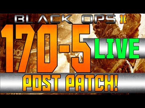 BO2: 170-5 LIVE COMM (Post Patch GamePlay)