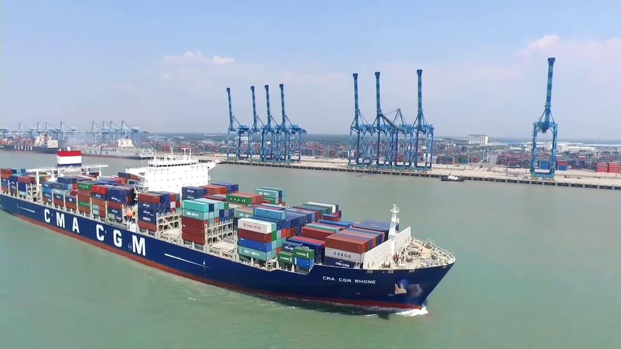 Malaysia Port   DJI Drone World Aerial Photography