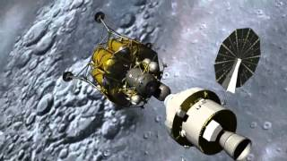 A HD JOURNEY OF A ROCKET TO MOON AND THEN EARTH