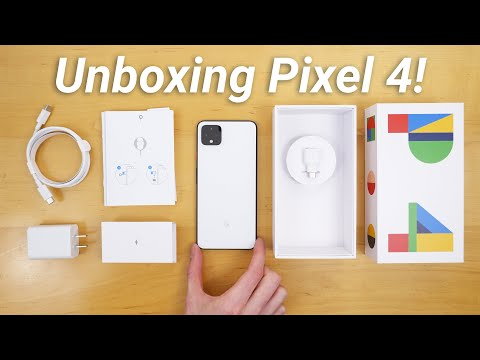 Pixel 4 Unboxing - What's Included & New Features!