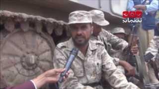 نائف الجماعي ــ القائد الميداني بمقاومة بعدان محافظة إب