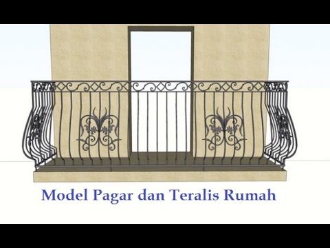 30 Contoh Design Mewah Pagar Teralis dan Pintu Gerbang ...