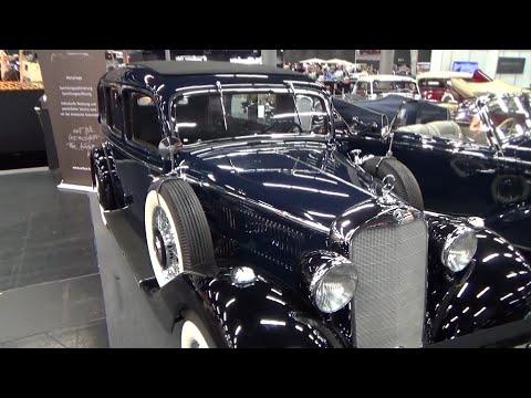 1937, Mercedes Benz 260 D Landaulet - Classic Expo Salzburg 2014