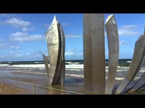 Omaha Beach, Normandy, France.