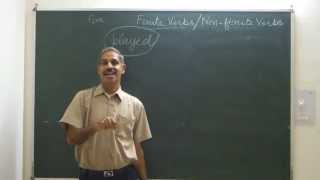 Learn English अंग्रेजी सीखें: Finite and Non-finite Verbs/ Concept and Structure