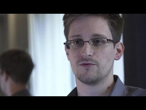 LIVE: Snowden speaks at itnl conference in Rio de Janeiro via video link