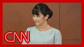 Japanese princess marries college sweetheart amid controversy