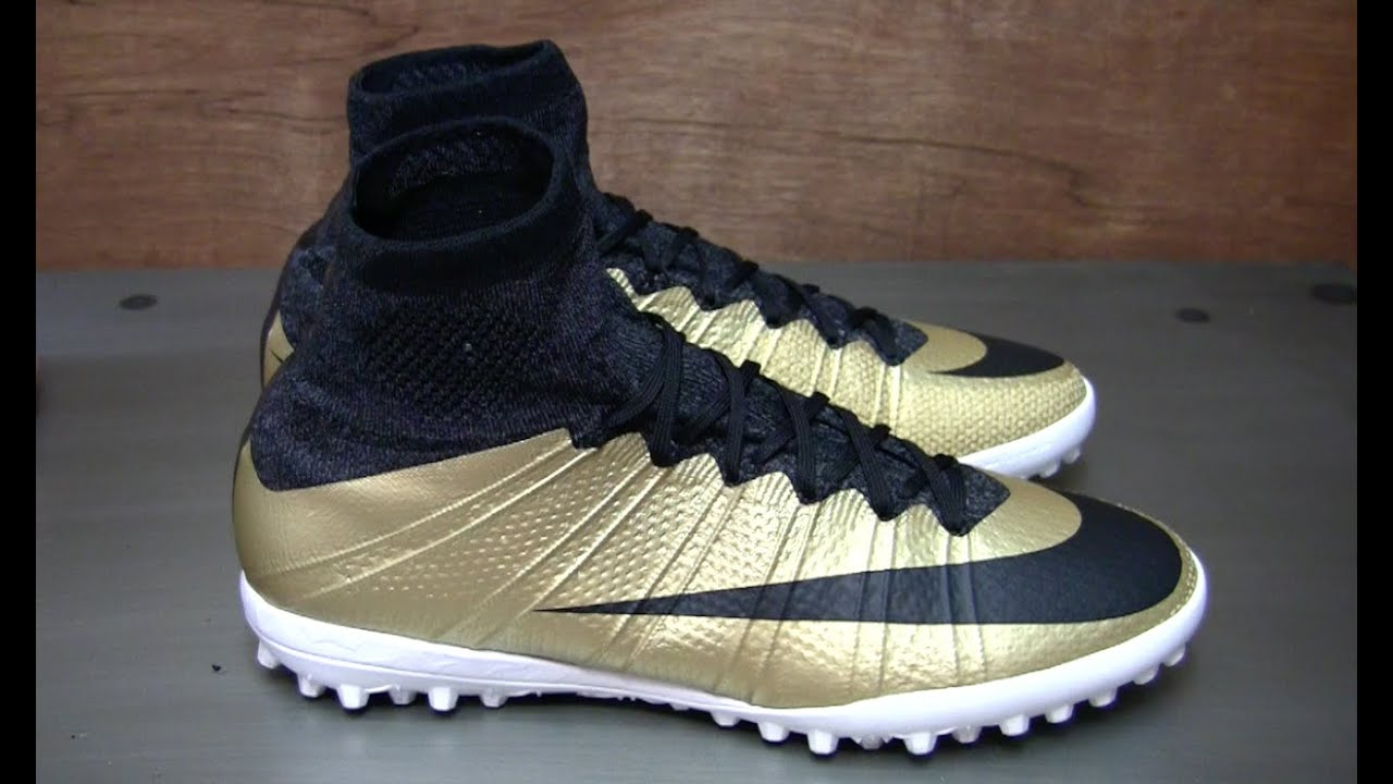 d915cc905417 Review & On Feet: Nike MercurialX Proximo TF Gold - YouTube