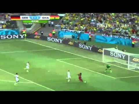 GERMANY VS GHANA 2-2 FIFA WORLD CUP 2014