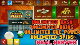 Hack! 8 Ball Pool 4.0.0 Unlimited Cash ,Coins , Cue Power , Unlimited Spins ❤No Root❤