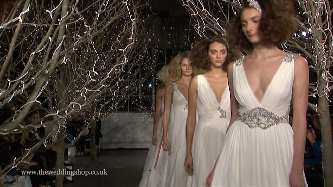 Jenny Packham Bridal Runway Spring Summer 2014 Youtube
