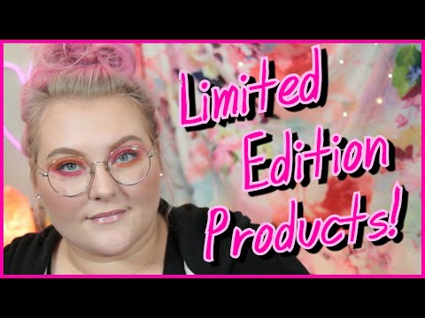"The Dilemma of ""Limited Edition"" Makeup Products! // Tube Talk! 