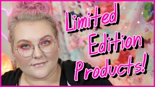 """The Dilemma of """"Limited Edition"""" Makeup Products! // Tube Talk! 