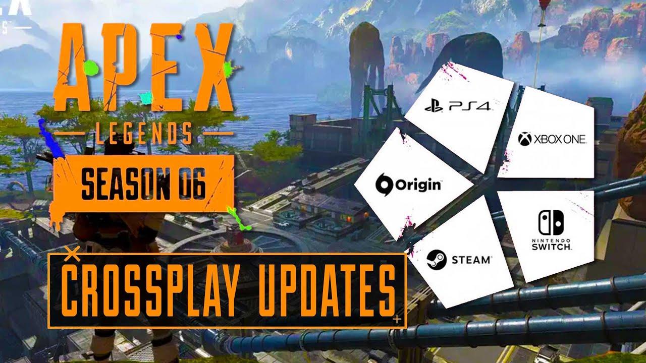 APEX LEGENDS SEASON 6 CROSSPLAY UPDATES!!!!