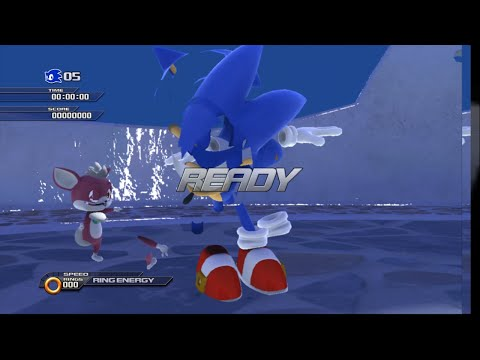Xenia (Xbox 360 Emulator) - Sonic Unleashed Demo nearly full level playthrough