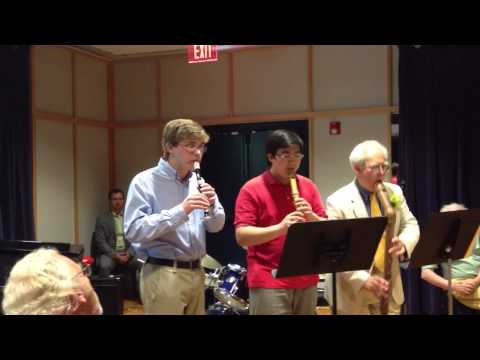 Super Mario Bros: Overworld Theme, arranged for Recorder Trio