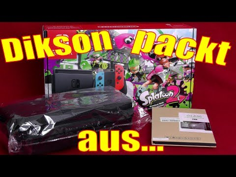 Dikson packt aus / Splatoon 2 - Bundle / Unboxing / Nintendo Switch