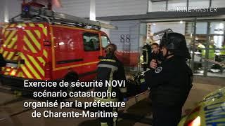 Exercice de sécurité NOVI à La Rochelle