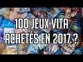100 JEUX PS VITA ACHETÉS EN 2017 ?