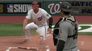 MLB 18 RTTS Matt Myer Nationals Catcher EP 20 | MLB The Show 18 Nationals vs Pirates
