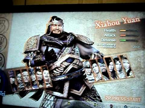 Dynasty warriors 7 how to unlock character weapons — photo 1