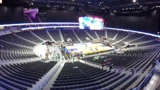 The view from a suite at the T-Mobile Arena, Las Vegas