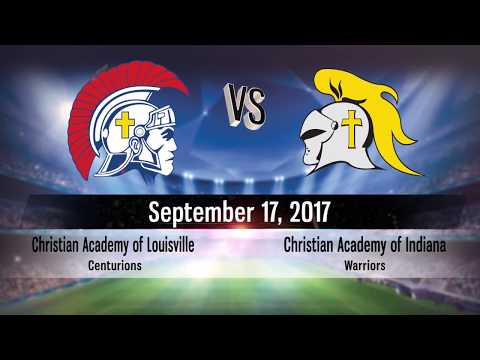 Christian Academy of Louisville Soccer 2018 vs Christian Academy of Indiana - Game 11