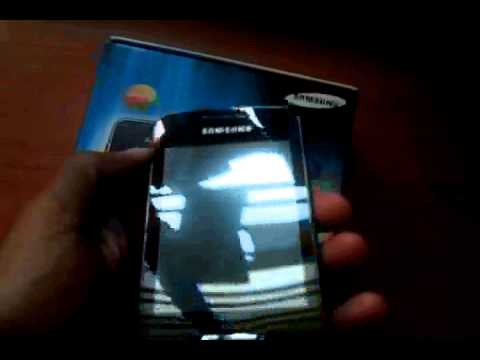 Samsung wave y unboxing and short hands on