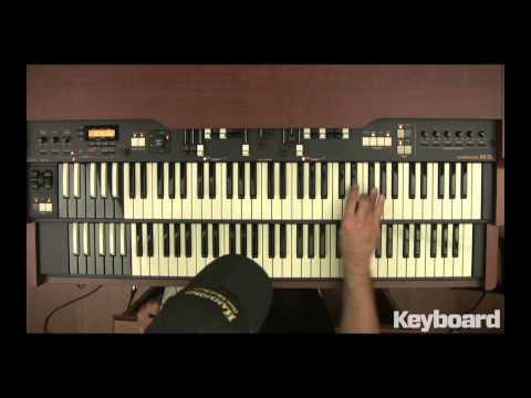 Tony Monaco's Blues Scale on Organ