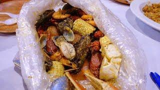 【加州美食】Crab Hut(San Diego):加州很夯的美式手抓海鮮餐廳