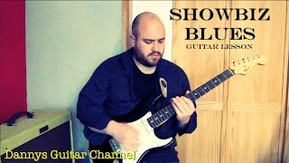 Showbiz Blues - Peter Green - Fleetwood Mac - Blues Slide Guitar Lesson