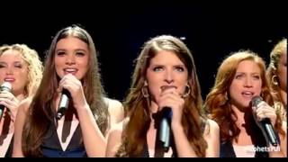 The Barden Bellas Final (Pitch Perfect 2) || Who Run The World + Flashlight