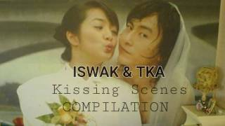 It started with a Kiss/They Kiss Again KISSING SCENES COMPILATION