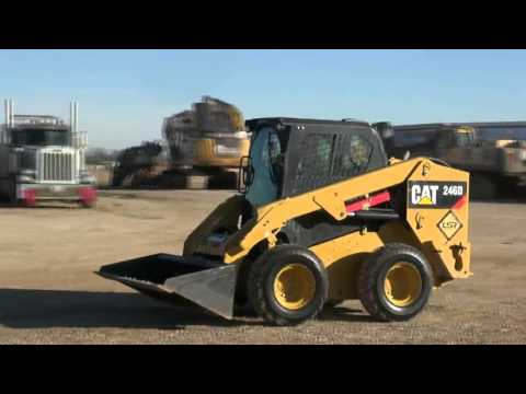 2014 Caterpillar 246D Stk#CA0961