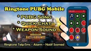 Gambar cover Cara Pasang Ringtone Musik,Quick Chat Dan Suara Senjata PUBG Di HP Android