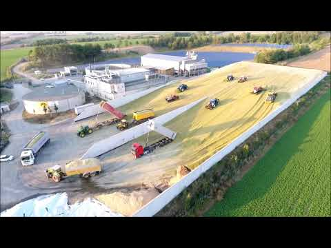 Big Corn Silage Smrzice Czech Republic DJI Phantom 4