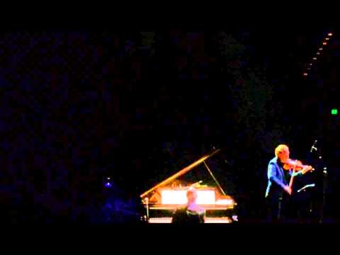 Ludovico Einaudi at the Sydney Opera House with Daniel Hope