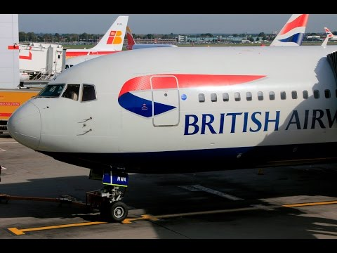 British Airways | Boeing 767 | AMS-LHR | Club Europe