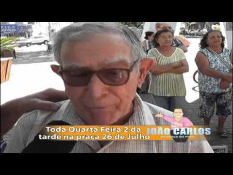 JOÃO CARLOS NA PRAÇA DO POVO GRAVADO EM 22/08/2012 EXIBIDO EM 23/08/2012