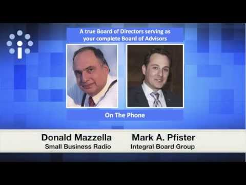 Integral Board Group - Business Radio Interview
